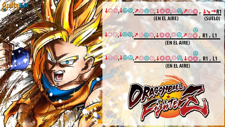 Cómo hacer espectaculares combos en Dragon Ball FighterZ