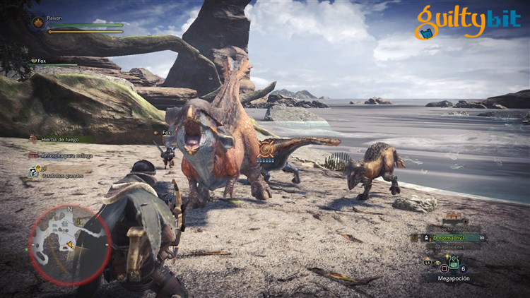 Guía Monster Hunter World monstruos