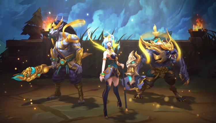 deleite lunar 2018 de league of legends