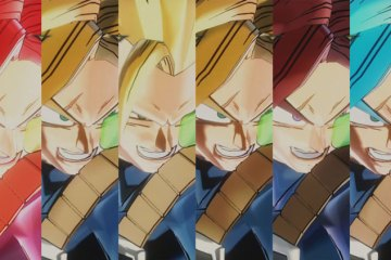 Comparación de todas las transformaciones Saiyan de Dragon Ball Xenoverse 2