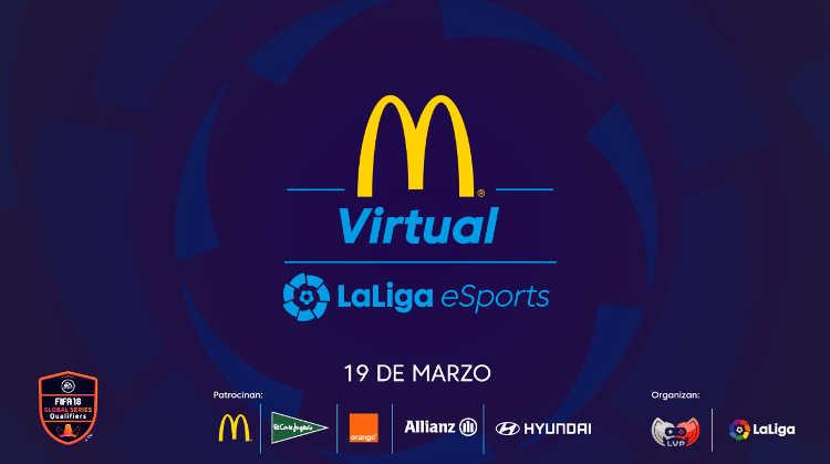 McDonald's Virtual LaLiga eSports de FIFA 18