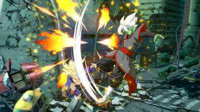 Primeras imagenes de Zamasu Fusion en Dragon Ball FighterZ 3