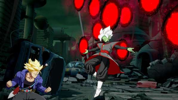 Primeras imagenes de Zamasu Fusion en Dragon Ball FighterZ 7