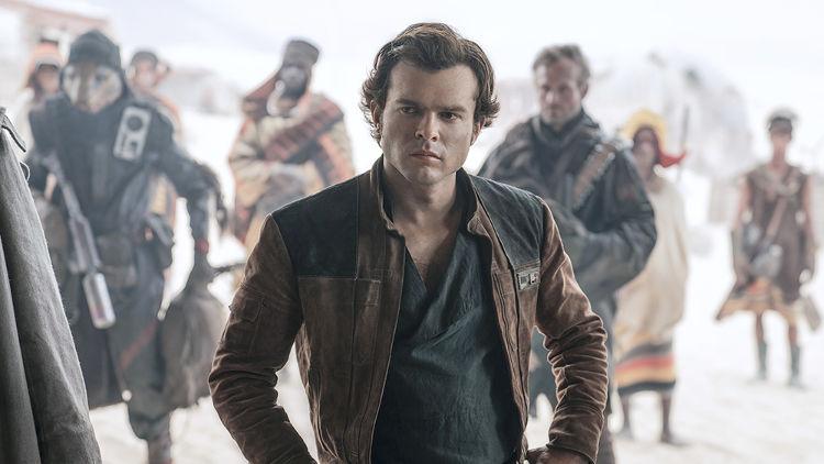 Recaudación de Han Solo: una historia de Star Wars