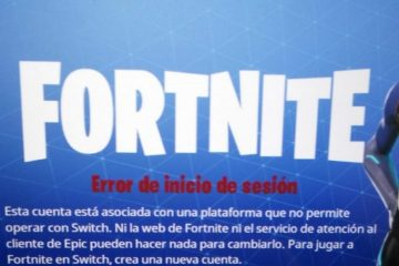 Sony sobre Fortnite en Switch