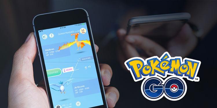 intercambios en Pokémon Go