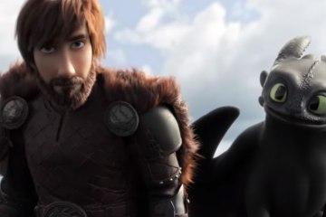 primer trailer de como entrenar a tu dragon 3