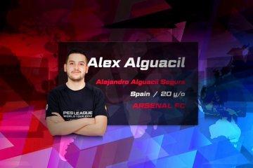 Álex Alguacil jugará las semifinales de PES 2018