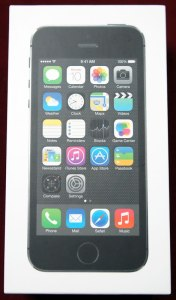 iPhone 5s 表面