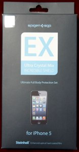 iPhone 5 Steinheil EX Ultra Crystal MIX 表面