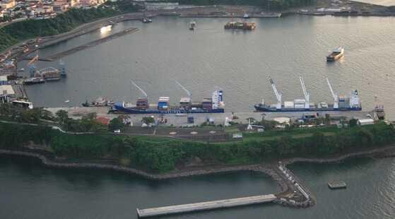 Puerto de Malabo, Guinea Ecuatorial