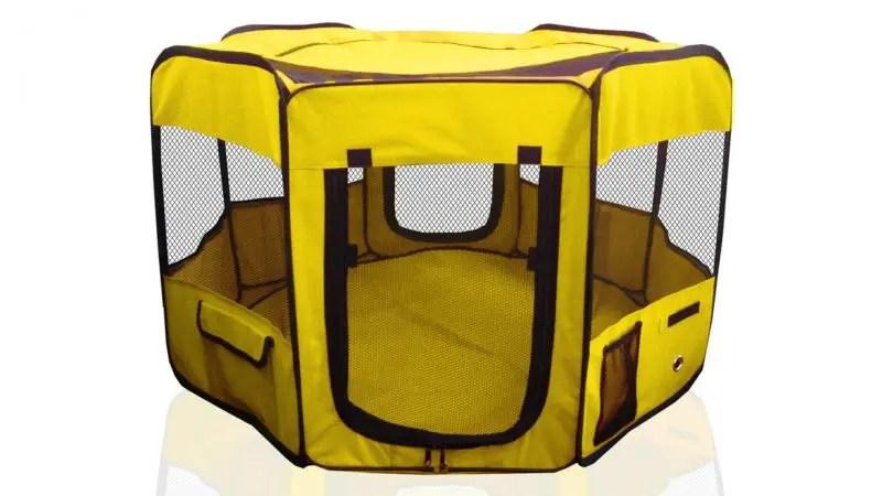 "Premium Pet Playpen Large 45"" IndoorOutdoor Cage"