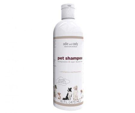Odie and Cody Natural Shampoo, Organic Pet Shampoo