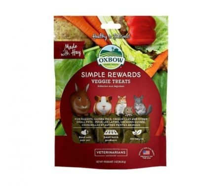 Oxbow Simple Rewards Veggie Treats for Guinea Pigs