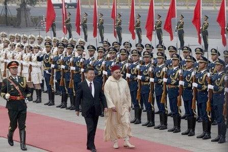 Roi du Maroc Chine
