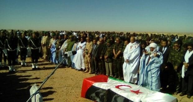 Mohamed Abdelaziz enterré