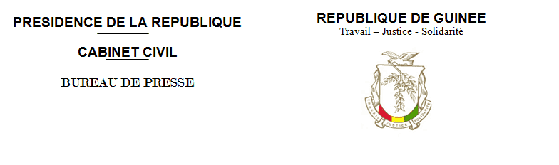 PRESIDENCE DE LA REPUBLIQUE DE GUINEE