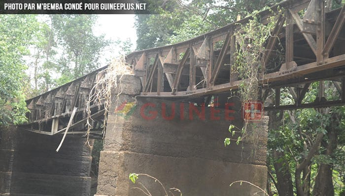 Photo du pont de kindia