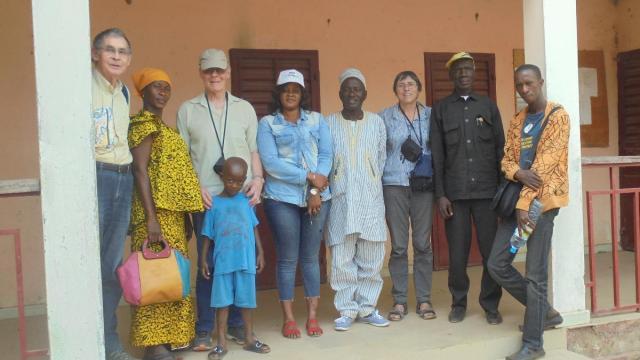 Les bénévoles de CESA ont contacté les autorités guinéennes, dans le cadre du projet d'installation d'un poste de santé et de la construction d'un forage. | DR