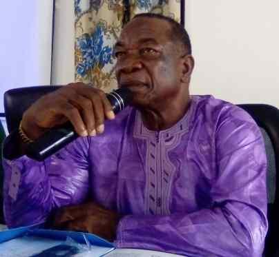M. Jean Smith Sandy, directeur de cabinet du gouvernorat de N'Zerekore