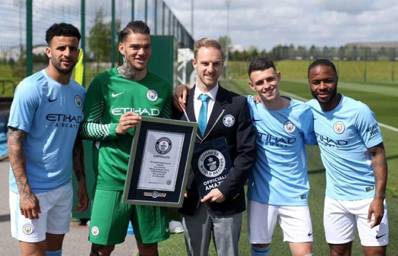 Ederson 2 tcm28 525690 - Relembre quando jogador Ederson do Manchester City conquista o recorde de tiro de meta