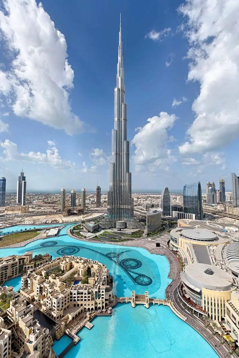 Retrato de Burj Khalifa