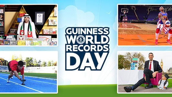 Looking back to the amazing events of Guinness World Records Day 2014   Guinness World Records