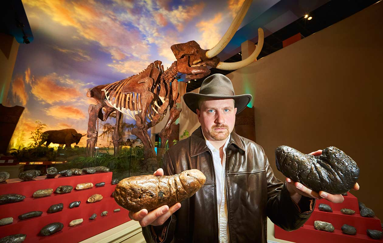 Fossilised poop collector enters Guinness World Records 2017 book   Guinness World Records