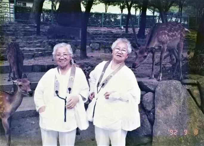 Koume (left) and Umeno (right)