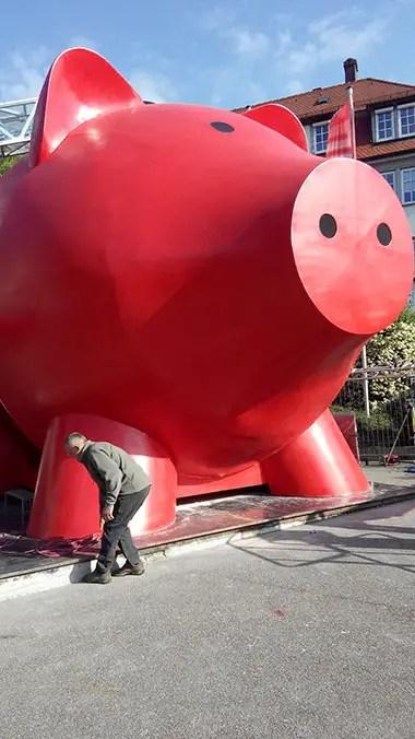 Piggy Bank Construction
