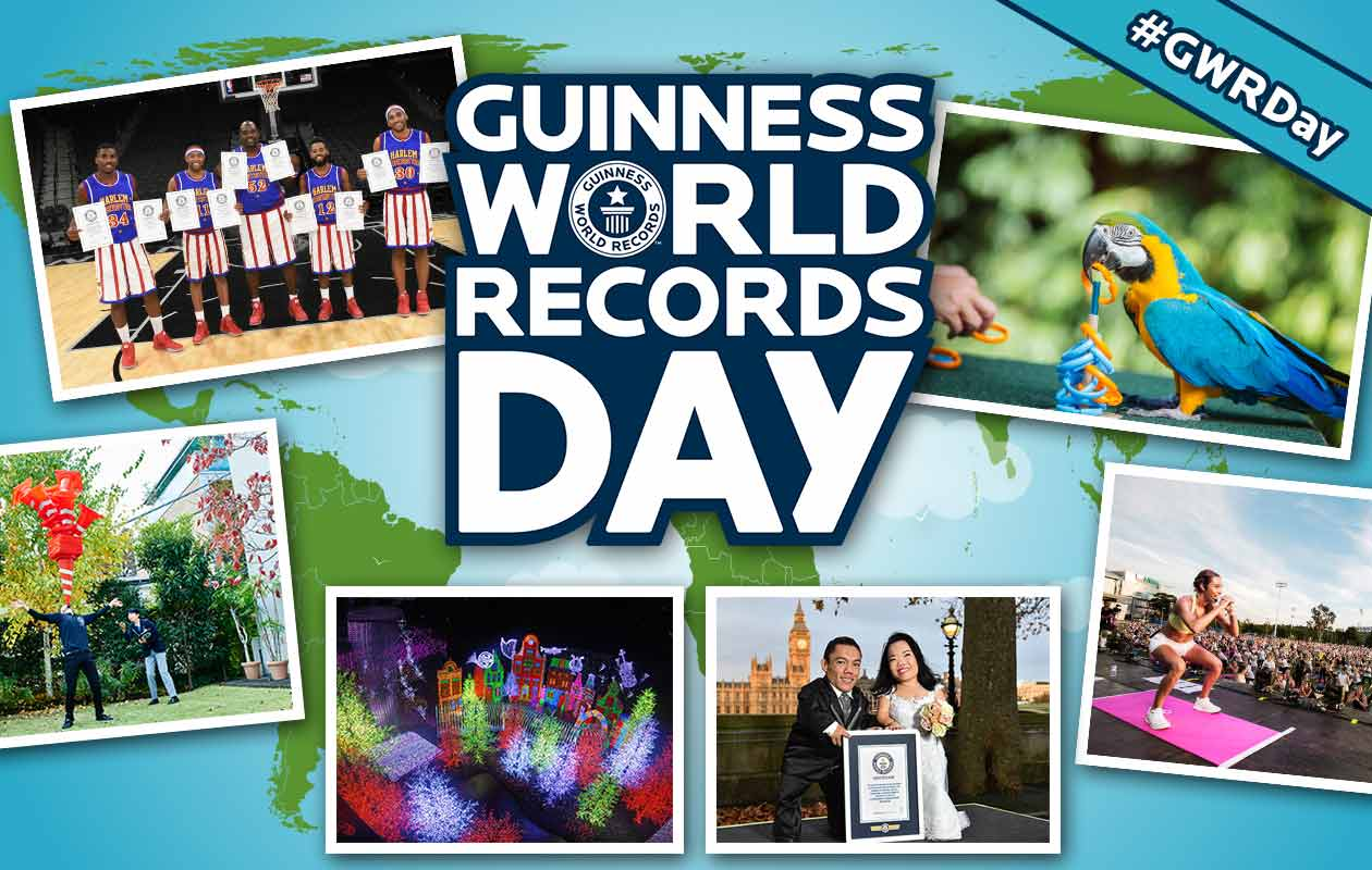 Guinness World Records Day 2016: A look back at 24 hours of record-breaking action   Guinness World Records