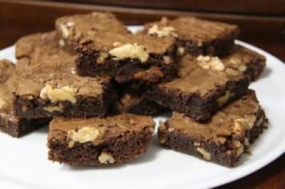 brownie de chocolate, postre de chocolate