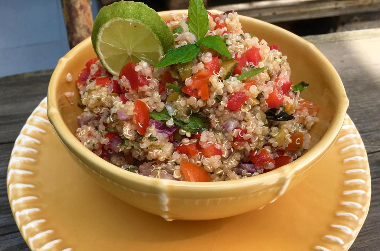 taboule fresh con quinoa