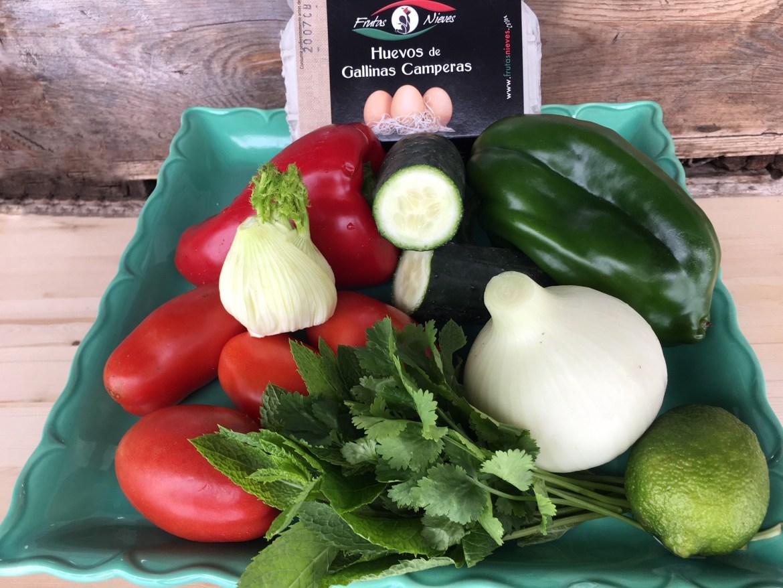 verduras de frutas Nieves