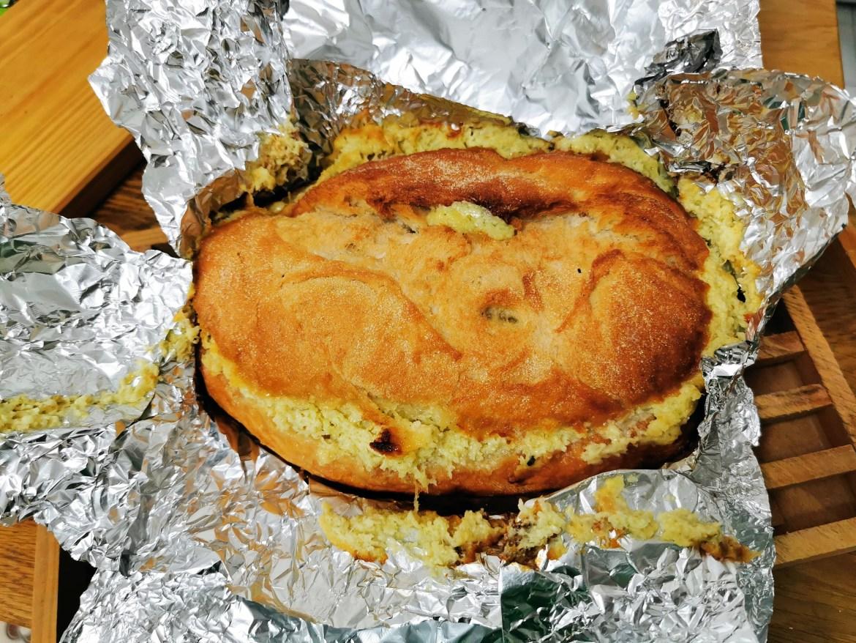 pan relleno de quesos