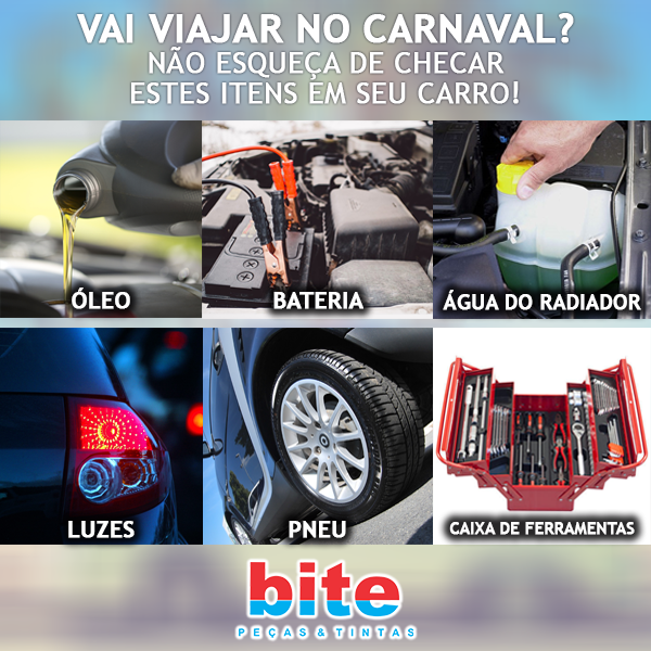 O que verificar no carro