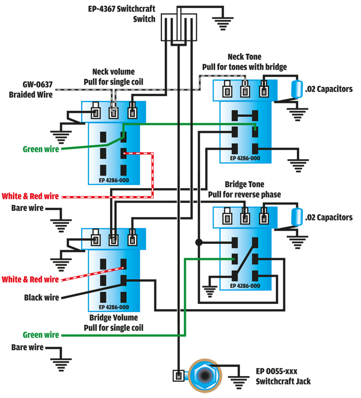 hofner guitar wiring diagram