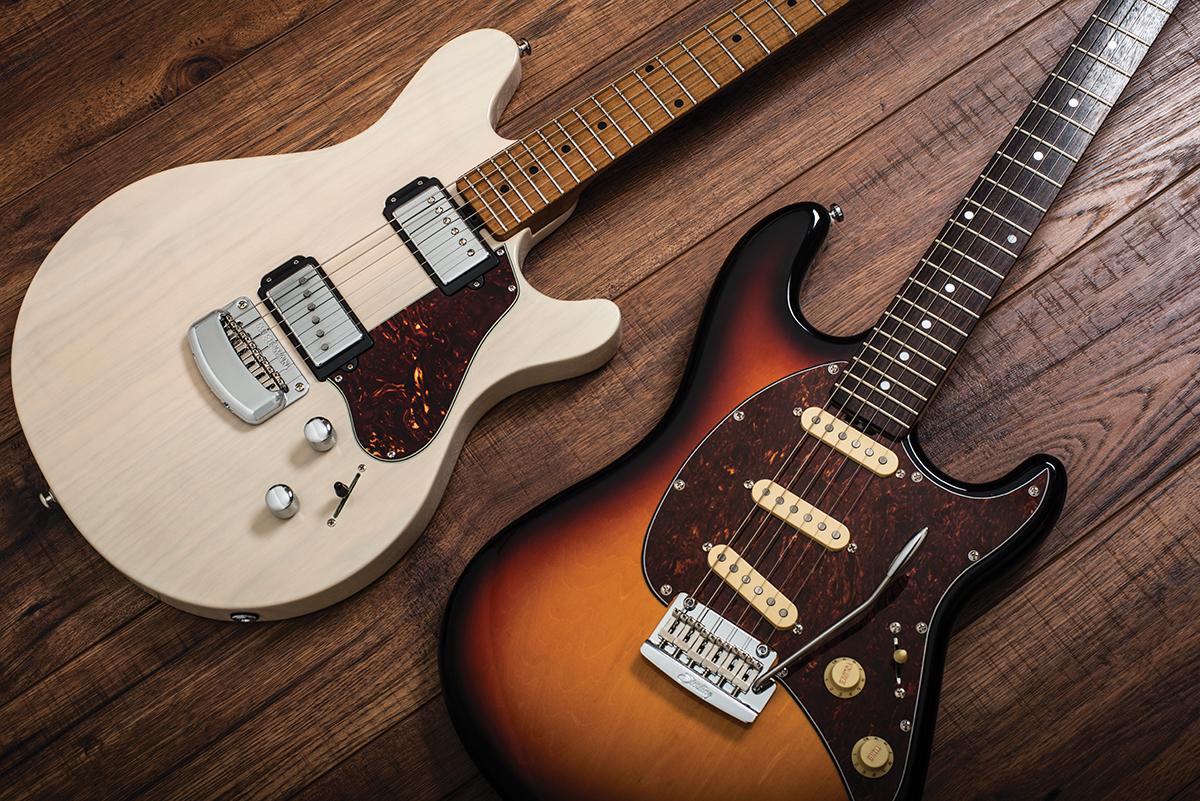 Music Man Valentine Amp Sterling Cutlass CT50 Guitar