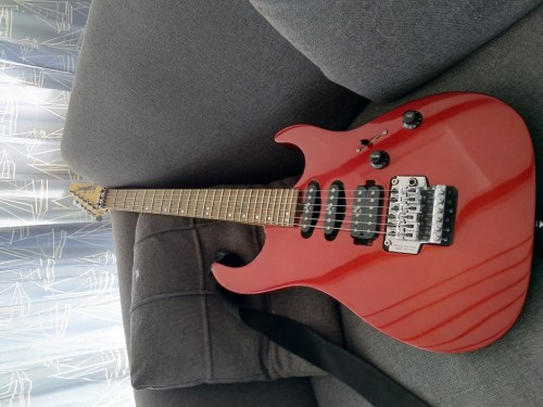 small resolution of mg300 mr mercury series 11 super strat metallic red