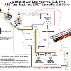 Bass Guitar Wiring Diagram Horse Trailer Plug Rothstein Guitars  Jazzmaster Series Parallel