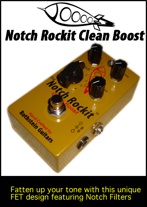 Rothstein Guitars Serious Tone For The Serious Player