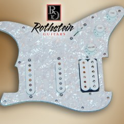 Stratocaster Hss Wiring Diagram Kenwood Kdc 155u Rothstein Guitars Prewired Strat Assemblies Since 2002 Has Been Building High Quality Drop In These Use Only The Finest Electronic Components