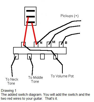 strat wiring diagram bridge tone 3 phase reversible motor late night diy installing a seven way switch on your drawing 1