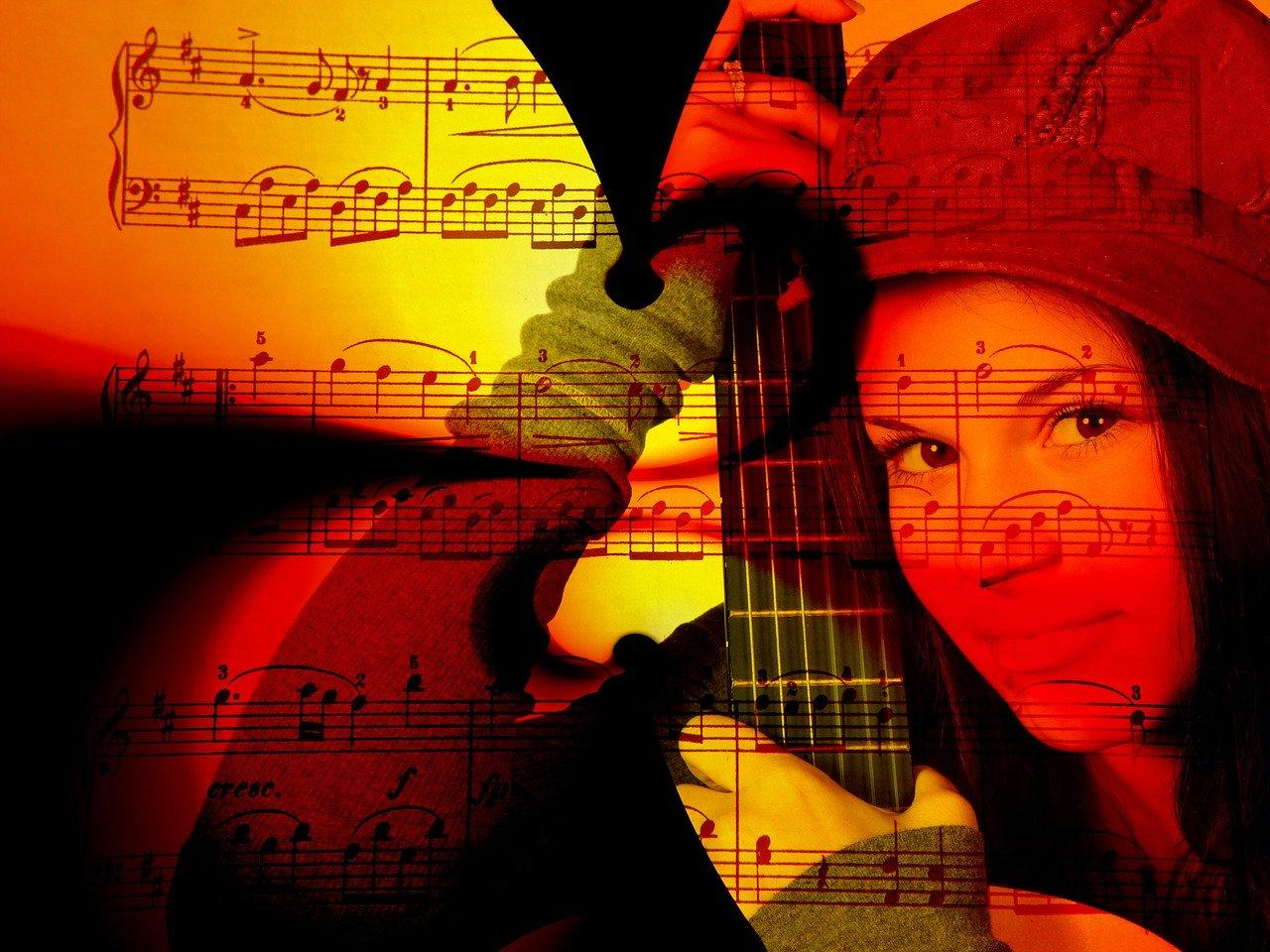 note spartiti per chitarra