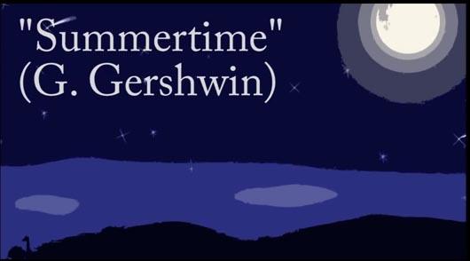 """""""Summertime"""" per chitarra e orchestra di Enzo Crotti"""