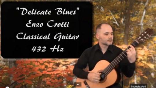 Delicate Blues chitarra classica e fingerstyle