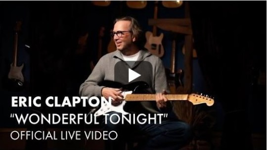 Bending: Wonderful Tonight di Eric Clapton