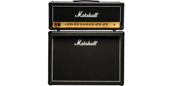 Marshall DSL100HR With MX212R Half Stack Package Guitar