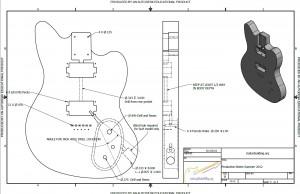 Current Guitar Models Design Files