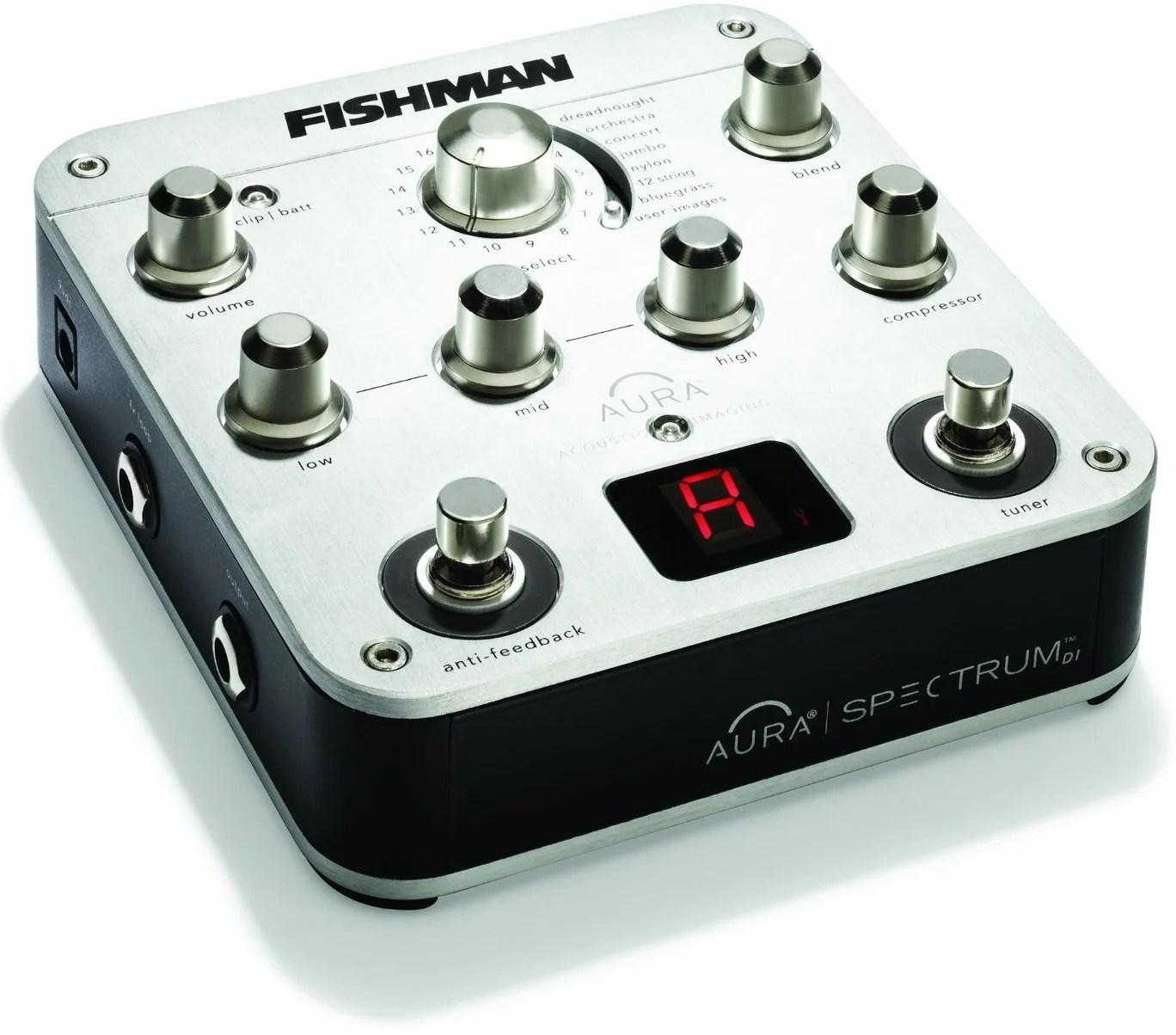 hight resolution of fishman aura spectrum di box for acoustic guitars
